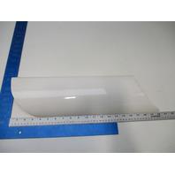 "White Boat Rear Corner Plastic Blower Vent Cover Scoop 20 1/4"" X 5"" #1"