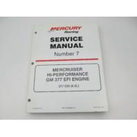 90-840500 300 MerCruiser Service Repair Manual Number 7 GM 377 Hi-Performance EFI