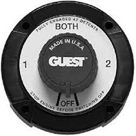 2111A Guest Marine Boat RV Battery Selector Switch 4 Position