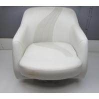 "2003 Starcraft C-Star 1700 Marine Boat Captains Chair Seat 24"" H x 24"" W"