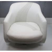 "2003 Starcraft C-Star 1700 Marine Boat Captains Chair Seat 24"" W x 24"" H"