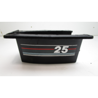 17258T Mercury Mariner Outboard Trim Cover 18, 20, 25 Hp Black Red