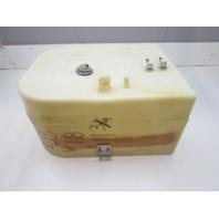 """Plastic Marine Boat Gas Tank Fuel Cell 32"""" L x 18"""" W x 11 3/4"""" H"""