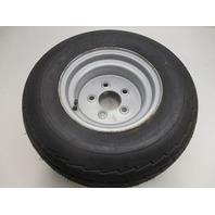 BOAT TRAILER TIRE 20.5 x 8.0-10; Load Range E  1535# @90PSI with Silver Wheel