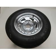 Carlisle Sport Trail 215/75D14 Trailer Tire Load Range C with Chrome Wheel