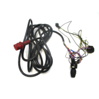 20 Ft Red Plug 8 Pin Hole Engine To Dash Wire Harness Evinrude Johnson
