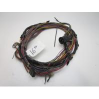 1988 Glastron X-16 OMC 3.0L Stringer Stern Drive Engine to Dash Wire Harness 16'