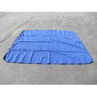 Blue 8' X 8' 4 Bow Bimini Top Fabric For Ponder Pontoon