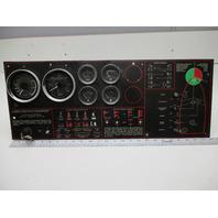 "1989 Bayliner Capri Marine Boat Dashboard Gauge Panel  25"" X 9 5/8"""