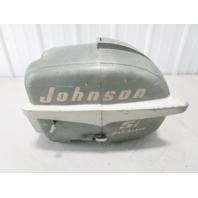 Vintage 1950's Johnson Sea Horse 5 1/2 HP Outboard Motor Cover Cowl Engine Hood