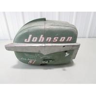 Vintage 1950's Johnson Outboard Sea Horse 5 1/2 HP Motor Cover Cowl Engine Hood