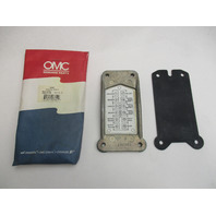 0581976 OMC Evinrude Johnson 70-75 Hp Outboard Power PackTerminal Cover 0581550