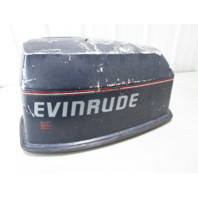 437258 Evinrude Johnson 88 HP V4 Motor Cowl Engine Cover Top Cowling Hood
