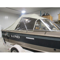 1290B Water Bonnet Light Beige Full Soft Cabin for Lund 1850 Tyee GS Boats