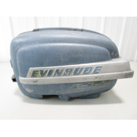 1950's Evinrude Super Fastwin 15HP Outboard Motor Cover Cowl Engine Hood Shroud