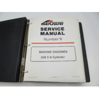 90-14499-1 887 MerCruiser Service Repair Manual #9 GM V-8 Marine Engines 87-88