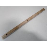 """Vintage Marine Boat Teak Wood Wall Deck Trim Insert 23"""" x 1 1/4"""" x 5/8"""""""