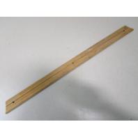 """Vintage Marine Boat Teak Wood Wall Deck Trim Insert 28"""" x 1 7/8"""" x 3/8"""""""