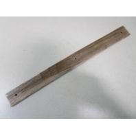 """Vintage Marine Boat Teak Wood Wall Deck Trim Insert 20 1/2"""" x 2"""" x 1/4"""""""