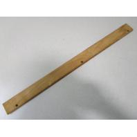 """Vintage Marine Boat Teak Wood Wall Deck Trim Insert 24 1/8"""" x 1 3/4"""" x 1/4"""""""