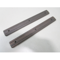 "Vintage Marine Boat Teak Wood Step Pad Trim Insert Set 12"" x 1 3/8"" x 1/4"""