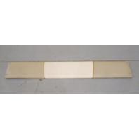 1995 Lund Tyee 1850 Grand Sport Sterndrive Rear Deck Cushion Tan & White