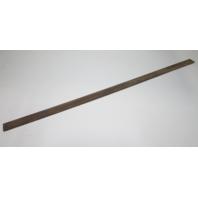 """Marine Boat Vintage Teak Wood Wall Deck Trim Insert 55 7/8"""" x 2"""" x 1/4"""""""
