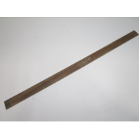 """Marine Boat Vintage Teak Wood Wall Deck Trim Insert 41 1/4"""" x 2"""" x 1/4"""""""