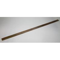 """Marine Boat Vintage Teak Wood Wall Deck Trim Insert 55 1/4"""" x 2"""" x 1/4"""""""