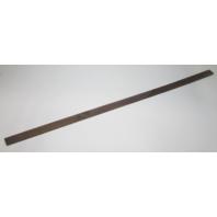 """Marine Boat Vintage Teak Wood Wall Deck Trim Insert 56 1/4"""" x 2"""" x 1/4"""""""