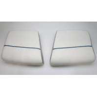 "1994 Bayliner Capri 1800LS Rear Jump Seat Butt Cushion Set (2) 18 1/2"" x 17"""