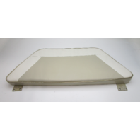 1995 Lund Tyee 1850 Grand Sport Boat Front Center Bow Seat Cushion Tan White