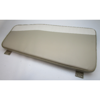 1995 Lund Tyee 1850 Grand Sport Boat Front Right STBD Bow Seat Cushion Tan White