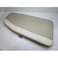 1995 Lund Tyee 1850 Grand Sport Boat Front Port Left Bow Seat Cushion Tan White