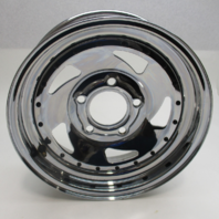 "Chrome Plated Wheel Rim 14""x4.5"" 5 Lug Rim Contour B"