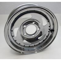 """Chrome Plated Wheel Rim 14 x 4.5""""  5 Lug Rim Contour J"""