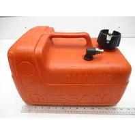 Nissan Marine Outboard 12L 3 Gallon Red Plastic Portable Remote Gas Fuel Tank