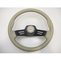 "Lund 2 Spoke Tan Marine Boat Steering Wheel 13.5"""