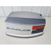 0279512 Evinrude Johnson 18 HP 2 Cyl Motor Cowl Engine Cover Top Cowling Hood