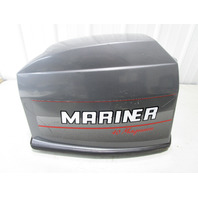 9868A8 Mercury Mariner Outboard Top Engine Cover Cowl 40HP Magnum Manual Start