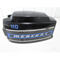 5652A5 Top Engine Cowling Cover for Mercury 75 7.5 9.8 110 Outboard Black Blue