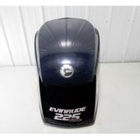 0285652 Evinrude E-Tec 225 H.O. Blue Engine Cowling Top Cowl 2006-20008 BRP