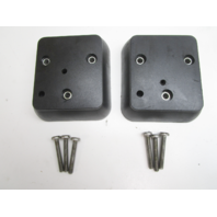 F511708-3 Force Outboard Carburetor Cover Set with Screws 125 120 150 HP 857010