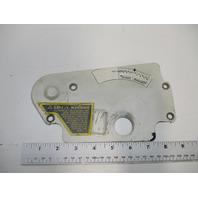 909320 OMC Stringer Stern Drive Mechanical Shift Converter Cover