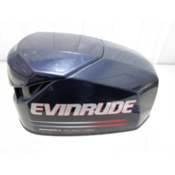 5004953 OMC Evinrude Ficht 115 HP Top Engine Motor Cover Cowl Hood 2002-2003