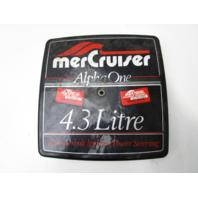 15414A7 Carburetor Cover for Alpha 1 Mercruiser 2/4 Barrel GM Chevy V6 4.3