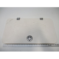 """2005 Hurricane Sundeck SD257DC Hinged Rear Compartment Cover 22 3/4"""" X 12"""""""
