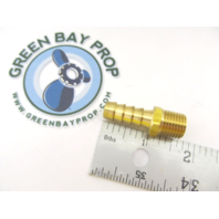 "HF39186425 LTWFITTING 1/4""NPT Brass Fuel Gas Male Barb for 3/8"" Hose"