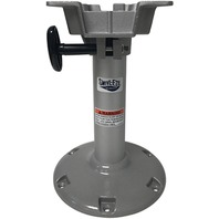 """LAKESPORT  2-3/8"""" BELL PEDESTAL-12"""" Fixed Height Post w/Seat Mount"""