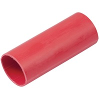 "HEAT SHRINK BATTERY CABLE TUBING, ADHESIVE LINED-1"" x 3"", 2 Red per Package"